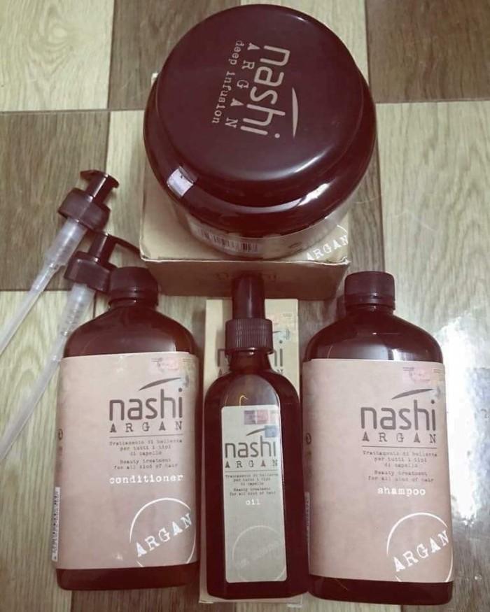 DẦU gội xả dưỡng tóc phục hồi NASHI ARGA1