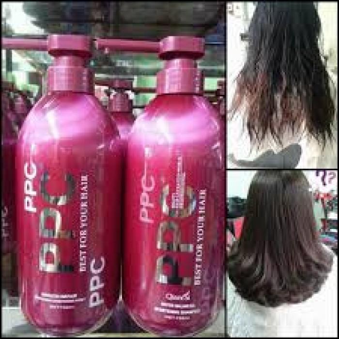 Cặp gội xả PPC phục hồi tóc hư tổn Là loại mỹ phẩm đặc trị tóc nát và hư tổn cao cấp nhất hiện nay trên thị trường Giúp lấy lại cấu trúc tóc đã bị hư tổn nặng do sử dụng các hóa chất quá nhiều như : uốn ép, nhuộm … Lấy lại tủy tóc bị gẫy, sợi tóc khô xơ giúp đàn hồi và tạo cho mái tóc sự bồng bềnh bóng mượt tự nhiên.1