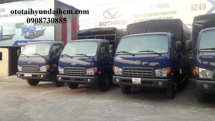 Xe tải 8 tấn Hyundai - thùng dài 6m3