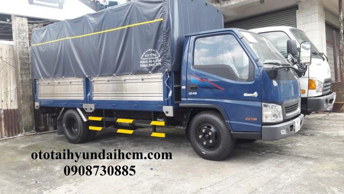 Xe tải iz49 - 2.5t - thùng mui bạt 1