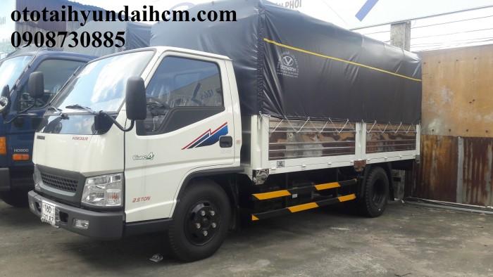 Xe tải iz49 - 2.5t - thùng mui bạt 0
