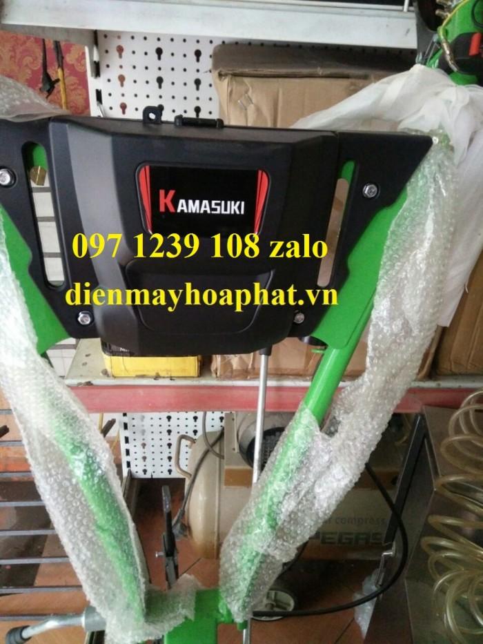 Máy làm đất, xới đất đa năng Kamasuki BSG800A, máy chạy xăng cực khỏe, giá rẻ1