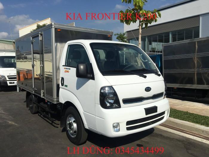 Giá xe tải KIA FRONTIER K200 1,49 tấn tại Vũng Tàu, hỗ trợ trả góp lên đến 80% lãi suất ưu đãi
