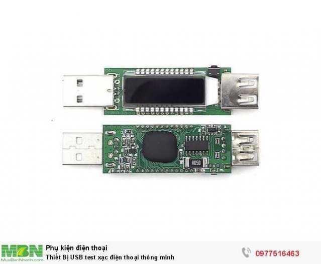 Thiết Bị USB test xạc điện thoại thông minh