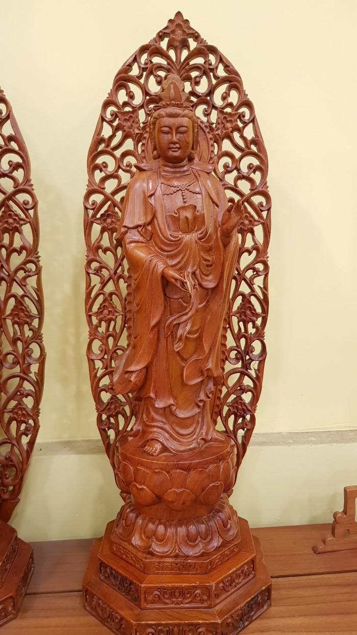 Bộ tượng tam thế phật chạm khắc sắc nét2