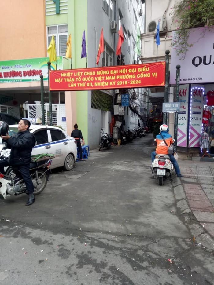 Nhà Đào Tấn, Ba Đình, 66M2 x 5 tầng, MT4