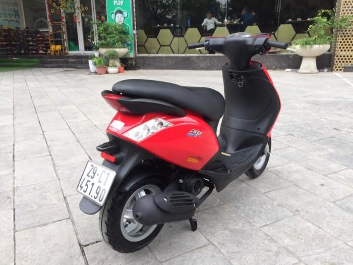 Zip 100cc Việt nam màu đỏ đời chân chông điện 2k16 biển hà nội