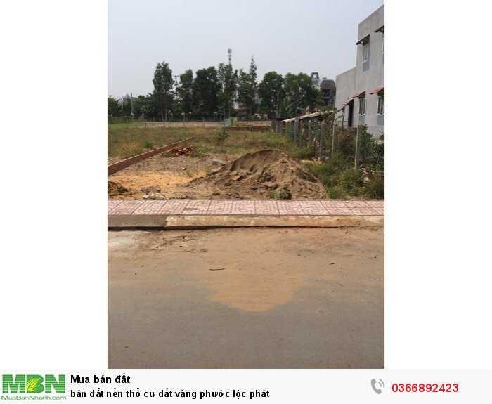 Bán đất nền thổ cư đất vàng Phước Lộc Phát