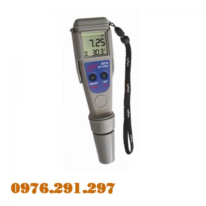 Bút đo PH và nhiệt độ nước AD12 - Adwa Romania0