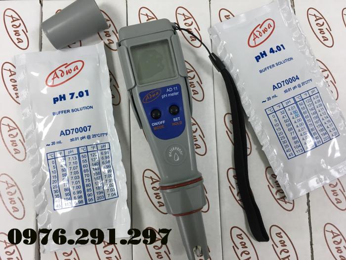 Bút đo PH và nhiệt độ nước AD12 - Adwa Romania1