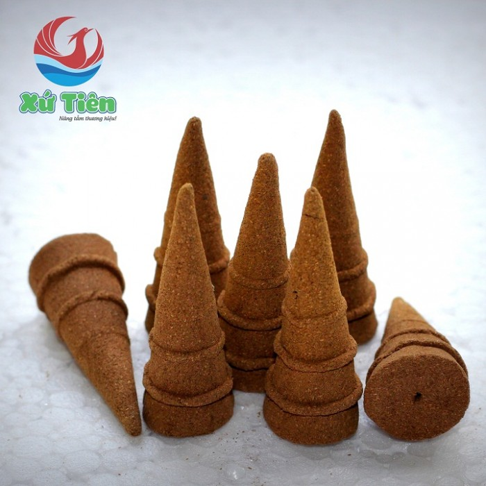 Combo 5 Hộp nhang trầm & 2 Lon nụ trầm Tiên Phước, Quảng Nam + 1 Đỉnh đất nung2