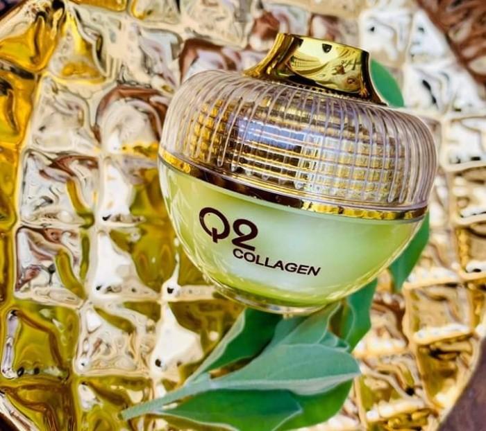 Kem Q2 Collagen Xanh Cải Tiến 20194