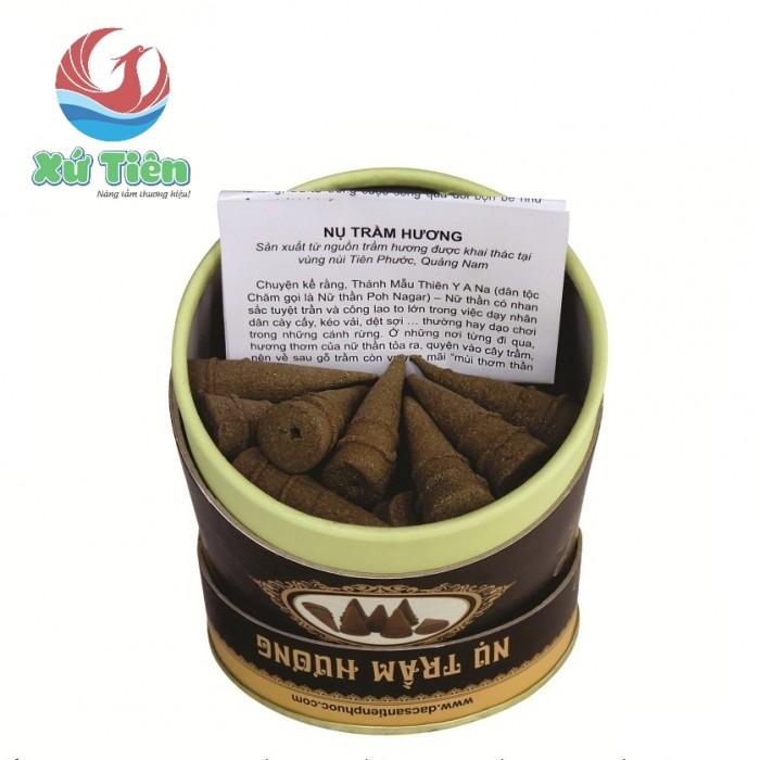 Combo 2 lon nụ trầm hương Tiên Phước, Quảng Nam0