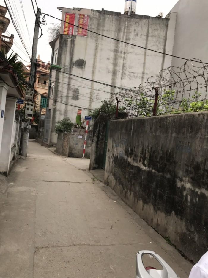 Chính chủ bán nhanh 2 lô đất sổ đỏ 35m2 Văn Trì, Minh Khai, Bắc Từ Liêm