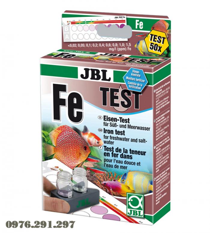 Hộp sắt (phèn, Fe) - Hộp Test phèn JBL Đức1