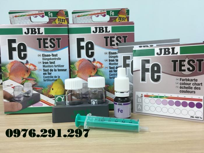 Hộp sắt (phèn, Fe) - Hộp Test phèn JBL Đức3
