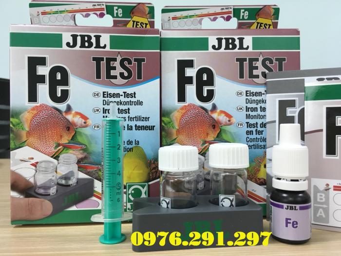 Hộp sắt (phèn, Fe) - Hộp Test phèn JBL Đức4
