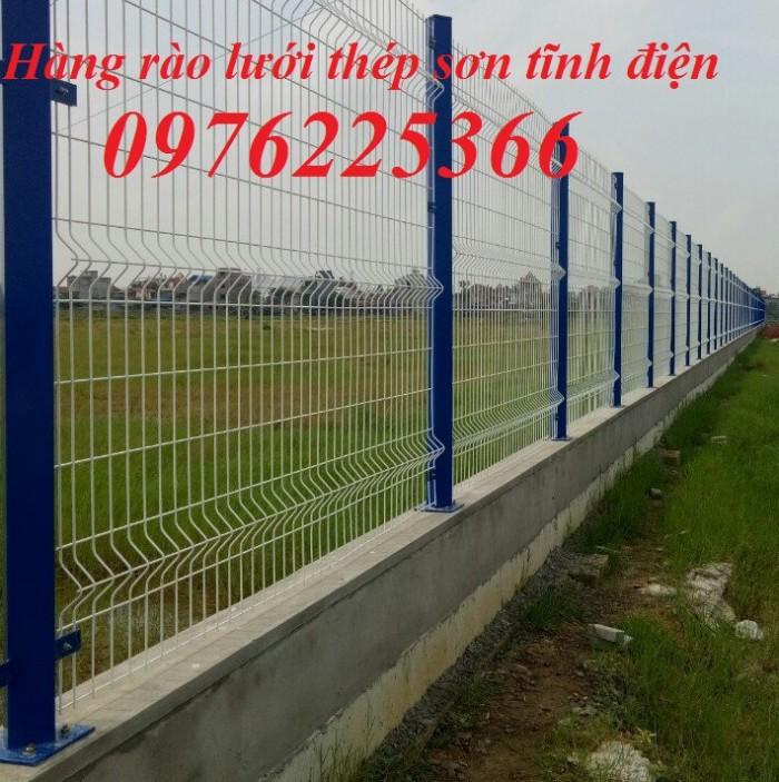 Sản xuất hàng rào mạ kẽm nhúng nóng, hàng rào sơn tĩnh điện giá tốt