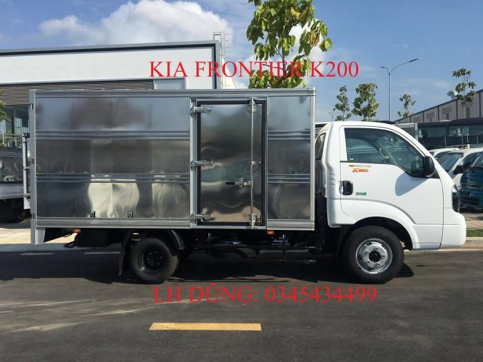 Bán trả góp lãi suất ưu đãi xe KIA HUYNDAI K250 tải trọng 2,49 tấn tại Vũng Tàu