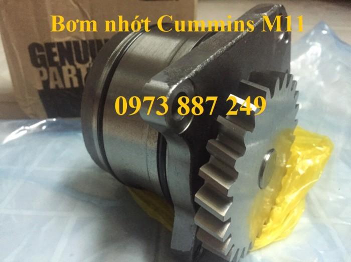 Bơm nhớt động cơ Cummins QSM11, M11, oil pump QSM11, M11 giá tốt nhất