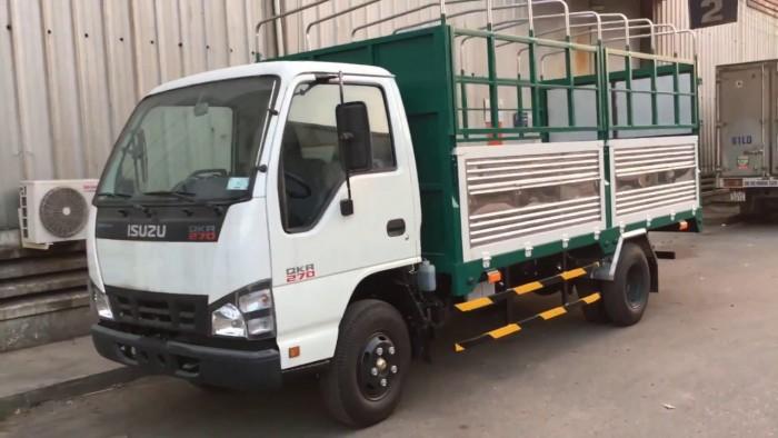 Xe tải isuzu 1.99 tấn thùng bạt dài 4m3 xe có sẵn giao ngay 11