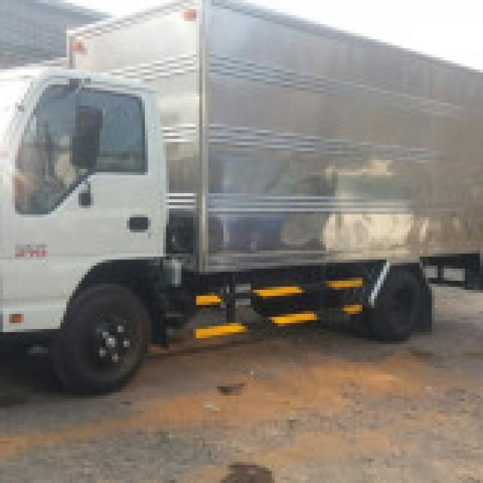 Xe tải isuzu 1.99 tấn thùng bạt dài 4m3 xe có sẵn giao ngay 10