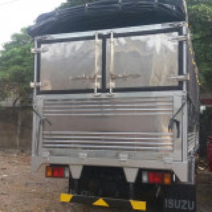 Xe tải isuzu 1.99 tấn thùng bạt dài 4m3 xe có sẵn giao ngay 8