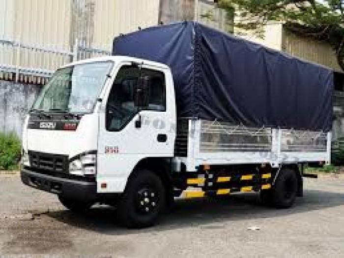 Xe tải isuzu 1.99 tấn thùng bạt dài 4m3 xe có sẵn giao ngay 7
