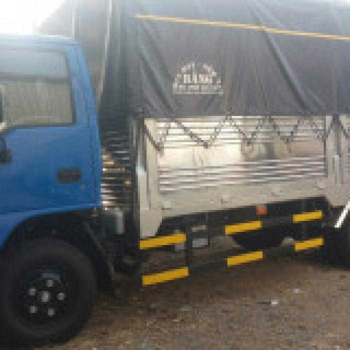 Xe tải isuzu 1.99 tấn thùng bạt dài 4m3 xe có sẵn giao ngay 5