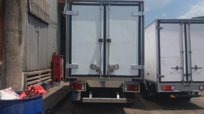 Xe tải isuzu 1.99 tấn thùng bạt dài 4m3 xe có sẵn giao ngay 1