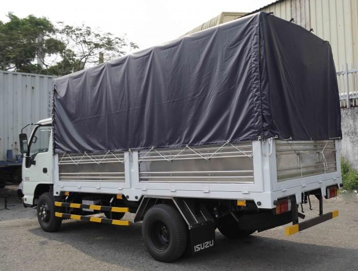 Xe tải isuzu 1.99 tấn thùng bạt dài 4m3 xe có sẵn giao ngay 0