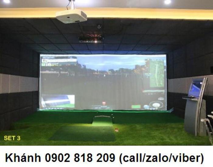 Thi công golf 3D mô hình golf giả lập