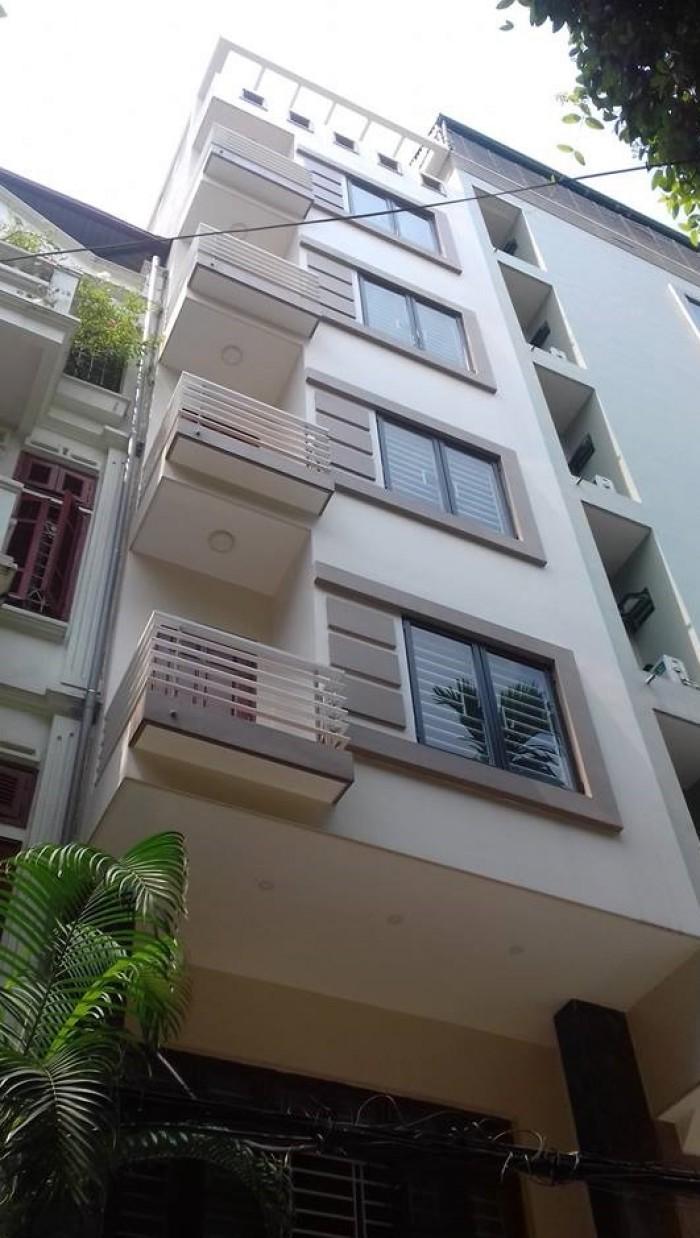 Bán nhà 7 tầng phố Thái Hà, thang máy, kd, ô tô, 50m2