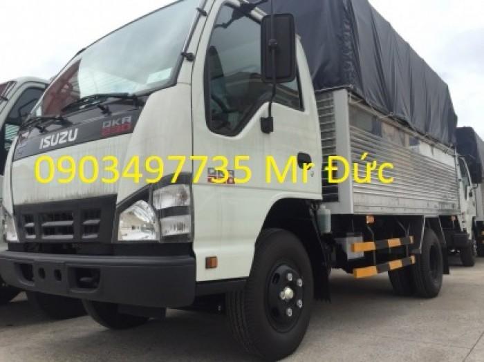 Xe tải Isuzu 2,5 tấn thùng mui bạt- QKR77FE4 1