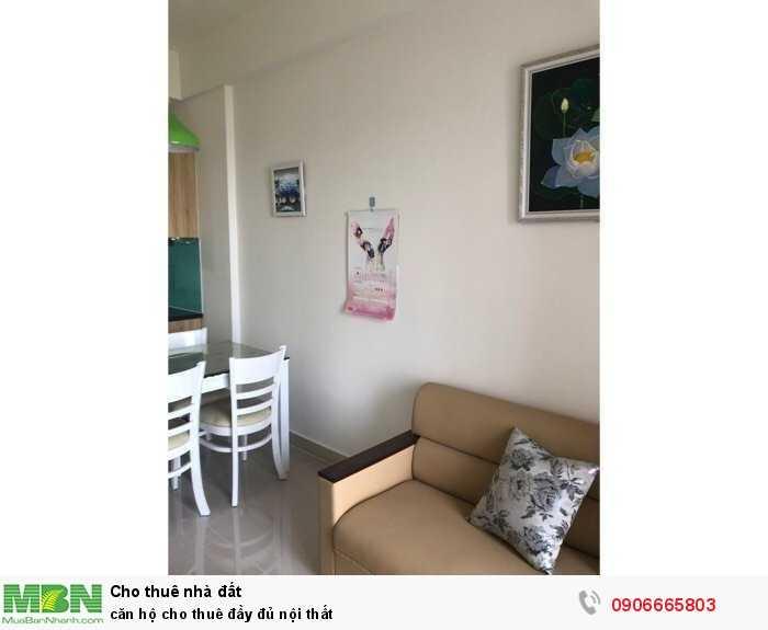 Căn hộ cho thuê đầy đủ nội thất