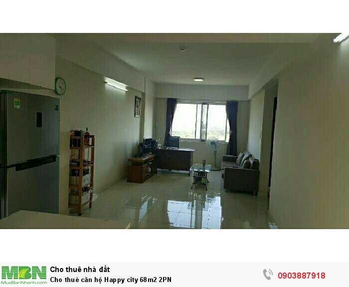 Cho thuê căn hộ Happy city 68m2 2PN