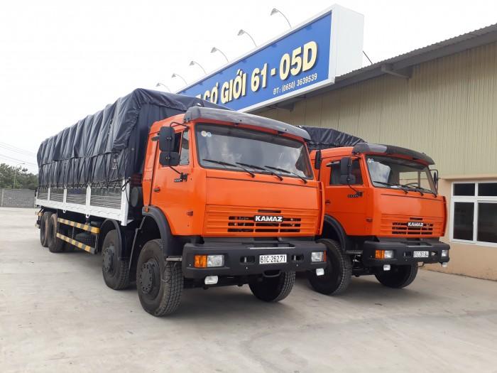 Bán xe tải thùng Kamaz 6540 mới 2016 (Loại 17,9 tấn/ 30 tấn), Kamaz 6540 thùng 2016, Kamaz 4 giò mới 10