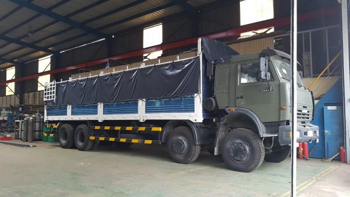 Bán xe tải thùng Kamaz 6540 mới 2016 (Loại 17,9 tấn/ 30 tấn), Kamaz 6540 thùng 2016, Kamaz 4 giò mới 11