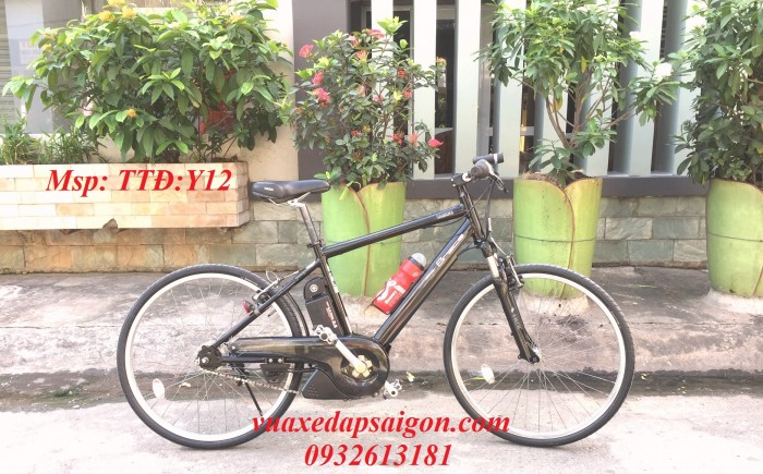 Siêu khuyến mại xe đạp thể thao trợ lực điện Pas Bracer