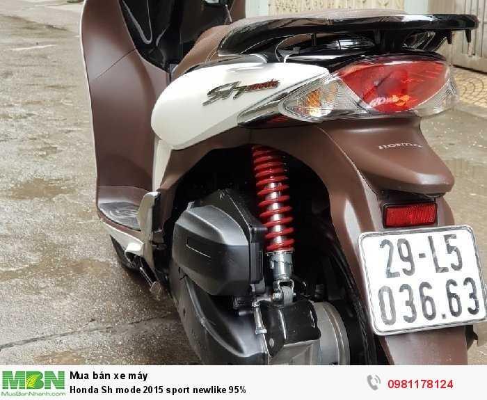 Honda Sh mode 2015 sport newlike 95%