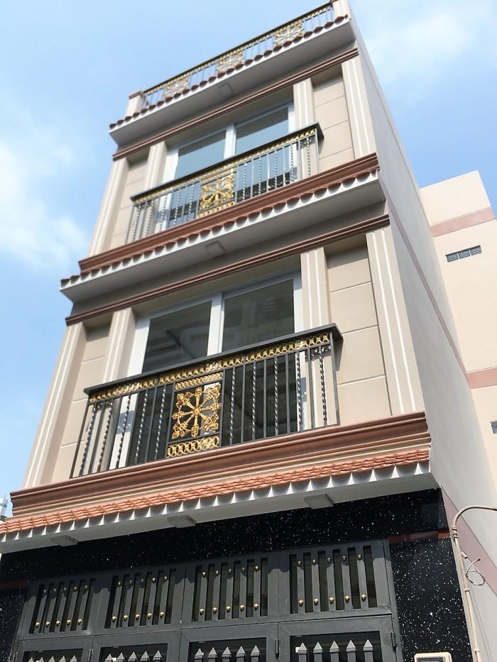 Bán nhà hxh 49 Nguyễn Văn Đậu. Diện tích 4x7m nở hậu 5m.