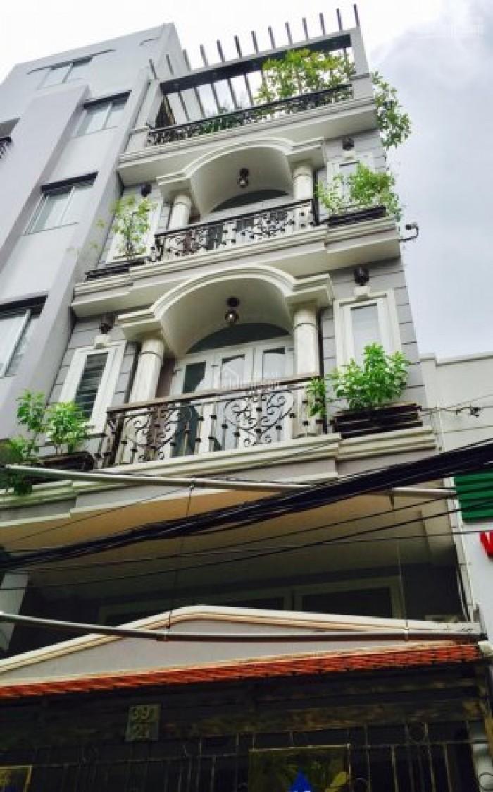 Gia đình cần bán gấp nhà Phạm Văn Hai, 4 tầng, 40m2, hẻm ba gác