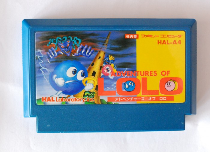 Băng Famicom Adventure Of Lolo0