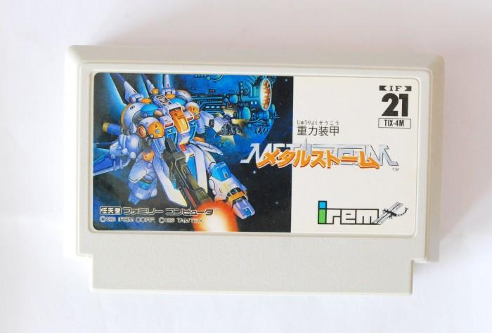 Băng Famicom Juuryoku Soukou Metal Storm0