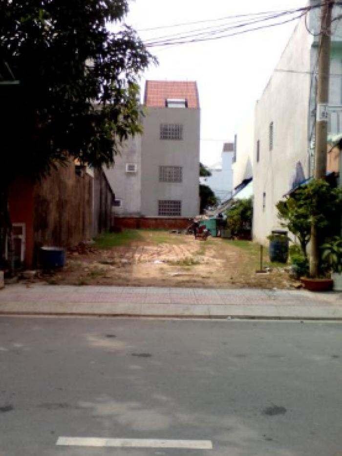 Bán đất mặt tiền đường Quy Đức, Bình Chánh