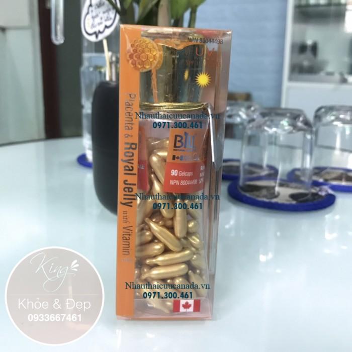 (Chống Nắng SPF/15) Viên Bôi Nhau Thai Cừu Sữa Ong Chúa và Vitamin E, Dạng Kem, 90 Viên Nang (Canada).1