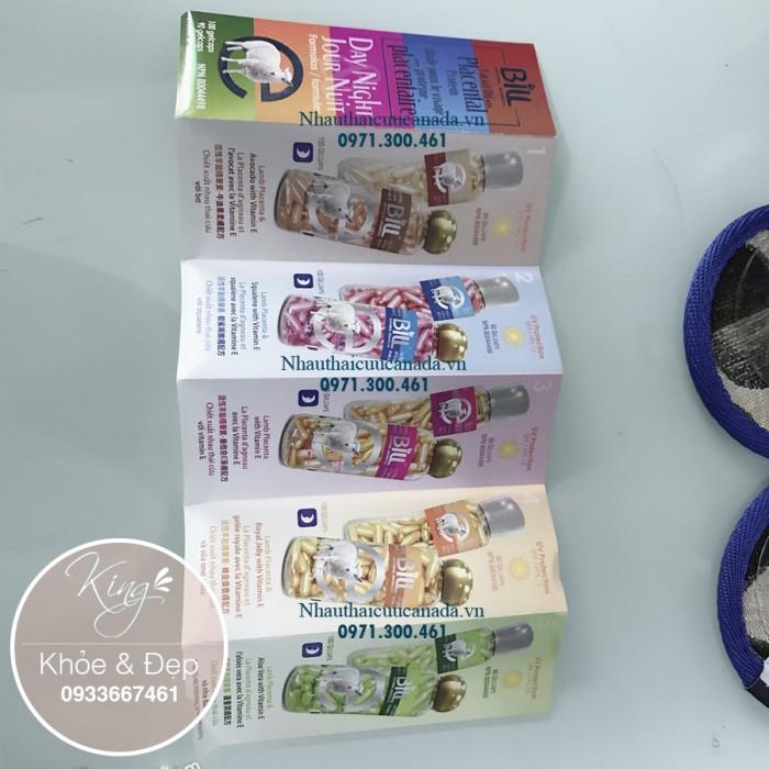 (Chống Nắng SPF/15) Viên Bôi Nhau Thai Cừu Sữa Ong Chúa và Vitamin E, Dạng Kem, 90 Viên Nang (Canada).3