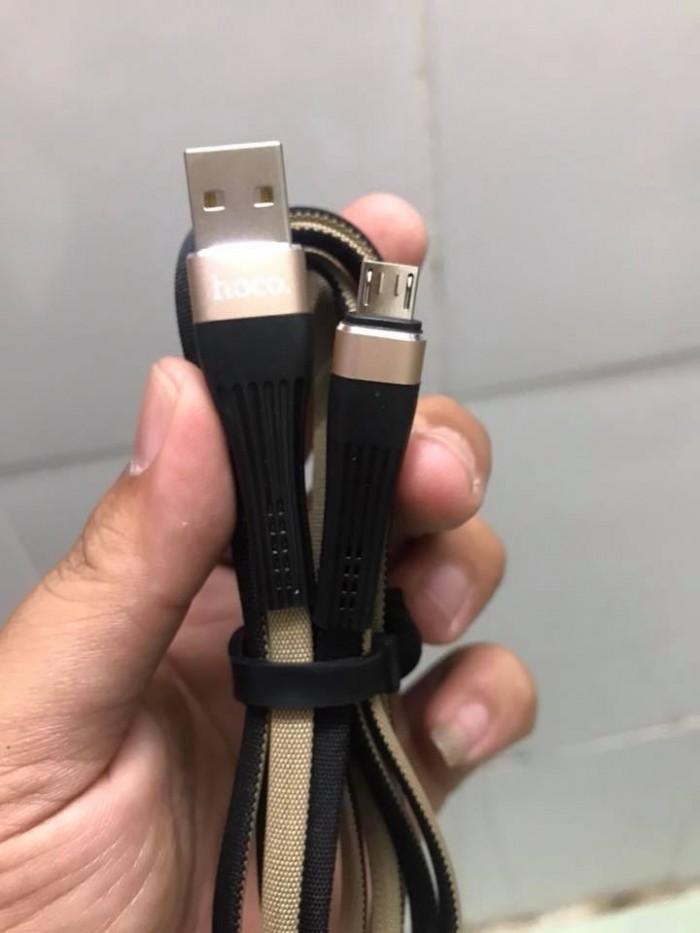 Cáp Sạc Micro USB Hoco U39 Dây Vải Siêu Bền Thách Thức Thời Gian4