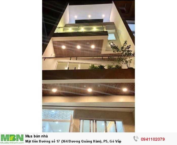 Mặt tiền Đường số 17 (364/Dương Quảng Hàm), P5, Gò Vấp