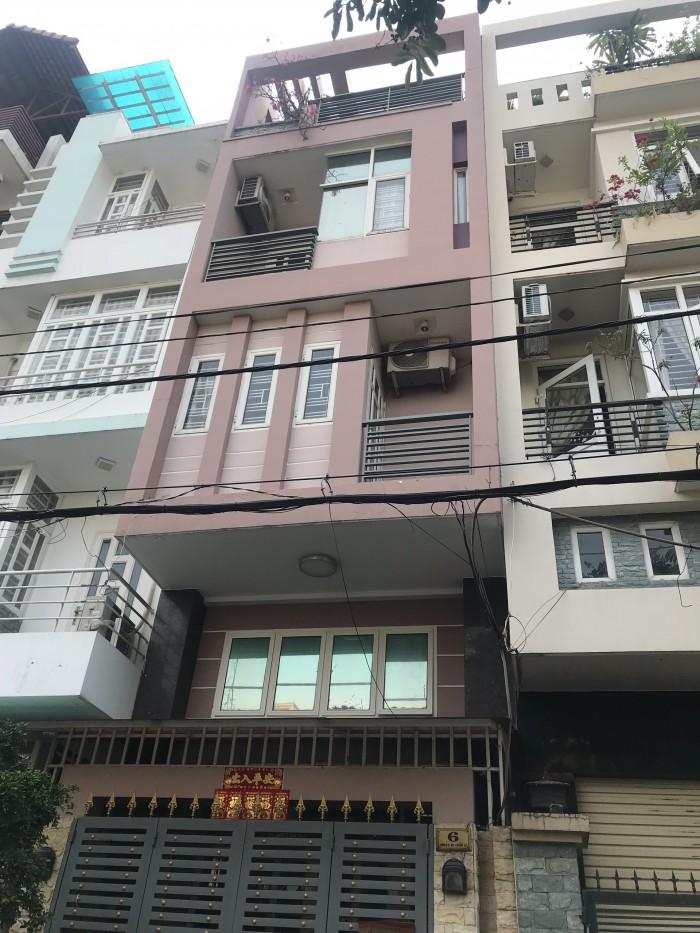 Chia tài sản bán nhà 160m2 1tret 2 lầu mt Trịnh Hoài Đức Q5